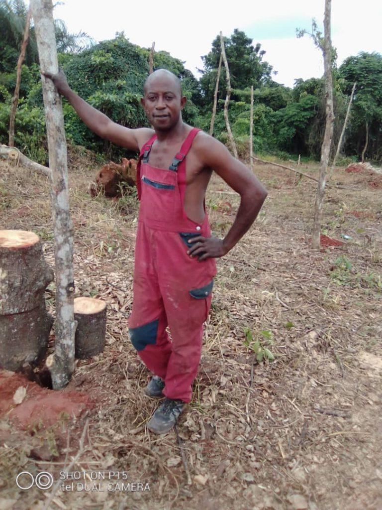 Efe Osas ist jetzt Landbesitzer
